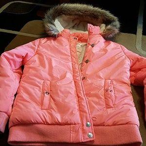Justice winter coat size 20